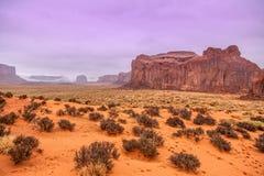 Denkmal-Tal-Stammes- Park, Navajo-Nation, Arizona und Utah, USA Stockfotografie