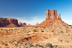Denkmal-Tal-Stammes- Park, Navajo-Nation, Arizona und Utah, USA lizenzfreies stockbild