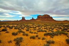 Denkmal-Tal, Utah Stockfotografie