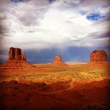 Denkmal-Tal, Utah Lizenzfreie Stockfotografie