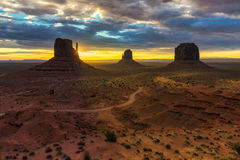 Denkmal-Tal, Utah Lizenzfreies Stockfoto