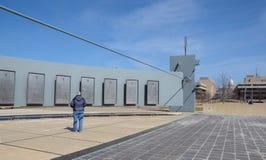 Denkmal und Kapitol Michigans Vietnam Lizenzfreie Stockfotos