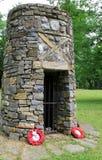 Denkmal von Blackwatch, eingeweiht gefallenen Soldaten im Jahre 1758, Fort Ticonderoga, New York, 2014 Lizenzfreie Stockfotografie