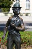 Denkmal von Charlien Chaplin, Vevey, die Schweiz lizenzfreies stockbild