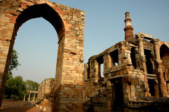 Denkmal von Delhi-Indien. Stockfoto