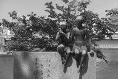 Denkmal von Miekichi Suzuki Lizenzfreie Stockfotografie