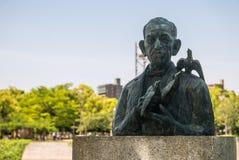 Denkmal von Miekichi Suzuki Stockfoto
