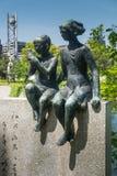 Denkmal von Miekichi Suzuki Lizenzfreies Stockfoto