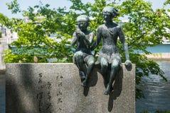 Denkmal von Miekichi Suzuki Stockbild