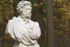 Denkmal von A.S.Pushkin Lizenzfreies Stockfoto