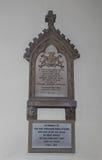 Denkmal zu Ada Lovelace bei Hucknall Lizenzfreie Stockbilder