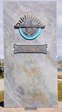 Denkmal zu ARA General Belgrano Stockbild