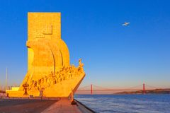 Denkmal zu den Entdeckungen, Lissabon, Portugal Stockfotos