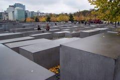 Denkmal zu den ermordeten Juden von Europa Stockfotos