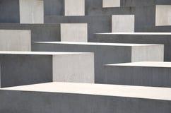 Denkmal zu den ermordeten Juden von Europa Lizenzfreie Stockbilder