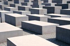 Denkmal zu den ermordeten Juden von Europa Stockbild