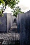 Denkmal zu den ermordeten Juden von Europa Lizenzfreie Stockfotografie