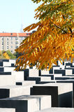 Denkmal zu den ermordeten Juden von Europa herein, Berlin Stockfotos