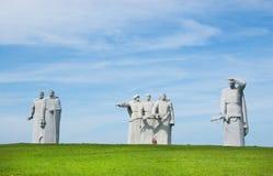 Denkmal zu den Heldern der roten Armee Stockfoto