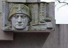 Denkmal zu den Heldern des Zweiten Weltkrieges Lizenzfreies Stockbild