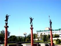Denkmal zu den Musen Stockbilder