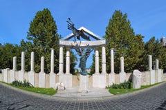 Denkmal zu den Opfern der deutschen Besetzung in Budapest, HU Stockbilder