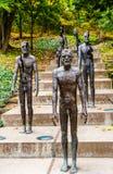 Denkmal zu den Opfern des Kommunismus in Prag, Tschechische Republik lizenzfreie stockfotos
