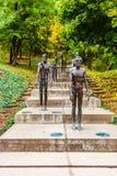 Denkmal zu den Opfern des Kommunismus in Prag, Tschechische Republik stockbild