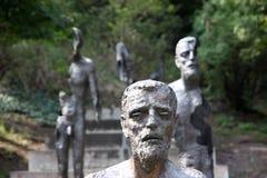 Denkmal zu den Opfern von Kommunismus Lizenzfreies Stockfoto