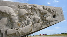 Denkmal zu den Soldaten lizenzfreies stockbild
