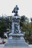 Denkmal zu Ferdinand Magellan in Punta Arenas, Chile Stockbild