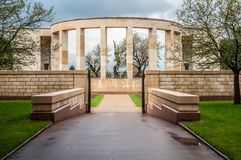 Denkmal zu gefallen in Normandie Lizenzfreie Stockbilder