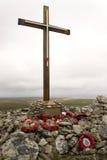 Denkmal zu HMS Coventry - Falklandinseln Lizenzfreie Stockfotografie