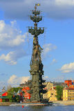 Denkmal zu Peter der Große Stockfotografie