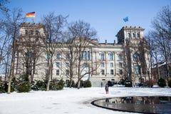 Denkmal zu Sinti und Rom-Leuten in Berlin Lizenzfreie Stockfotos