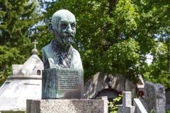 Denkmal zu Stanislaw Alojzy Rasinski in Zakopane Lizenzfreies Stockbild