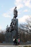 Denkmal zu Taras Shevchenko in Kharkov, Ukraine Stockfotografie