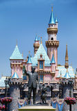 Denkmal zu Walt Disney und zur Mickymaus Lizenzfreies Stockfoto