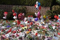 Denkmal zu Whitney Houston Lizenzfreies Stockfoto