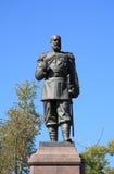 Denkmal zum Kaiser Alexander III Stockbilder