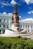 Denkmal zur Catherine II Lizenzfreies Stockbild