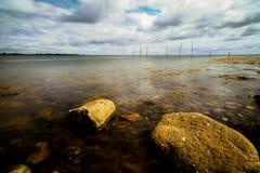 Denmark's kust fotografering för bildbyråer