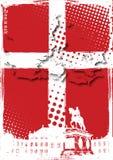 denmark affisch Arkivbild