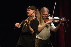 Denmark april 2008: Fairport Convention on stage Stock Image
