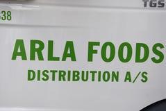 DENMARK_ARLA dystrybucje żywności Obrazy Stock