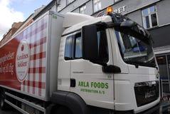 DENMARK_ARLA dystrybucje żywności Zdjęcia Royalty Free