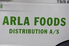 DENMARK_ARLA FOOD DISTRIBUTIONS Stock Photo