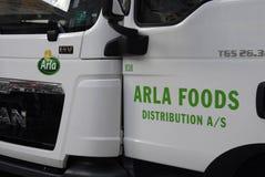 DENMARK_ARLA FOOD DISTRIBUTIONS Stock Images