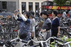DENMARK_ASIAN TOURISTS Stock Photos