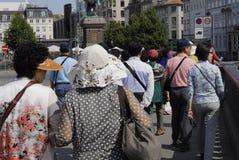 DENMARK_ASIAN TOURISTS Royalty Free Stock Photos